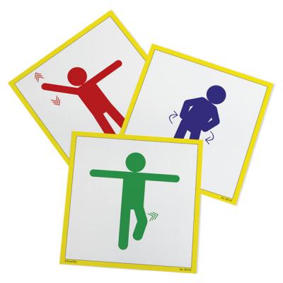 Activiteitenkaarten - Bewegend leren - 20-delig