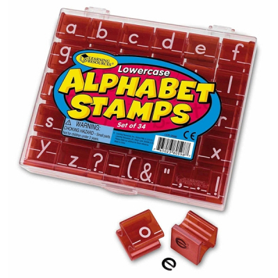 Learning Resources - Alfabetstempels kleine letters