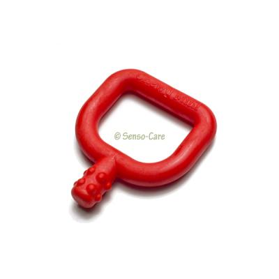 Chewy Tubes Mini rood met knobbels