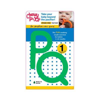 Chewy Tubes P&Q groen (set van 2)
