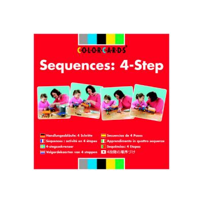 Colorcards - Volgordekaarten van 4 stappen