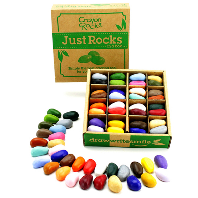Crayon Rocks doos met 64 krijtjes