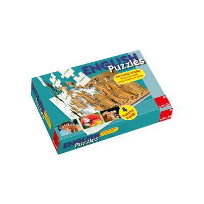 English Puzzles - Levensmiddelen en voedsel, lichaam, gezondheid en familie
