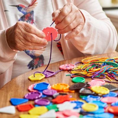Edx - Grote knopen in verschillende kleuren - Set van 90