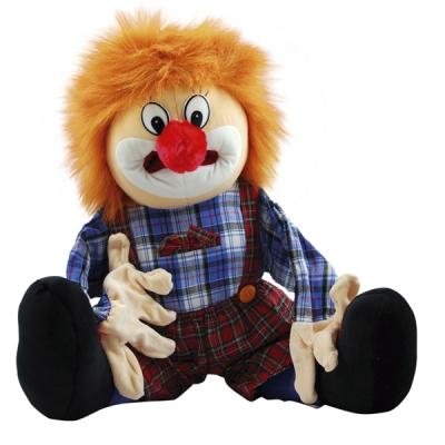 Handvertelpop - Clown