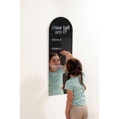 Hoe groot ben ik spiegel
