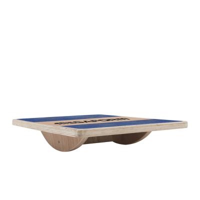 Houten balansbord - Vierkant / Plateau d'équilibre carré