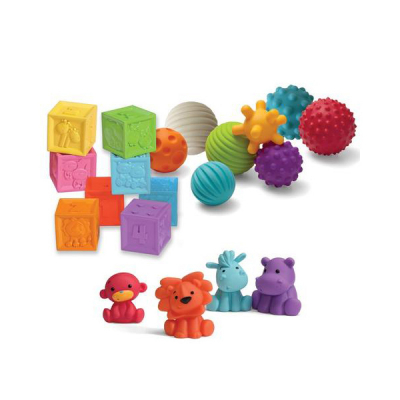 Infantino - Sensory - Balls, blocks & buddies