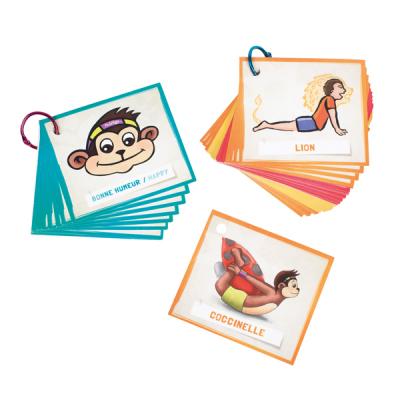 PedaYoga minikaarten houdingen en emoties