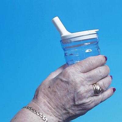 Deksel voor Sure Grip ribbelbeker