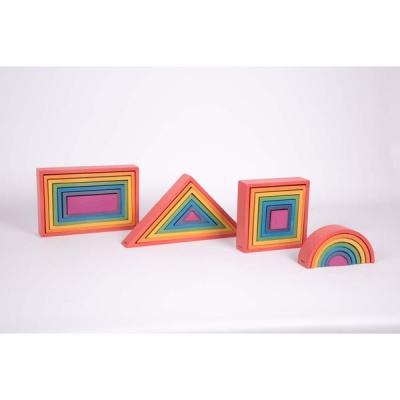 Rainbow Architect Set - Set van 28