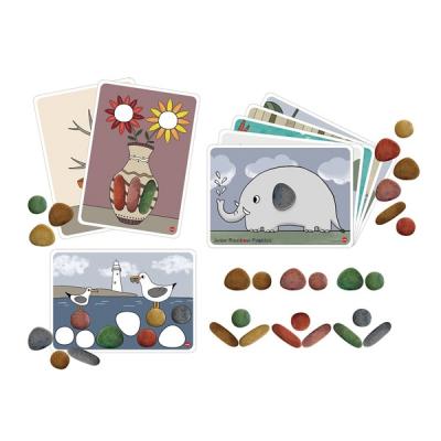 Edx - Regenboog kiezels - Junior - Biologisch afbreekbaar - Set van 36