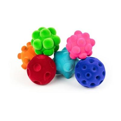Lot de 6 balles sensorielles Rubbabu