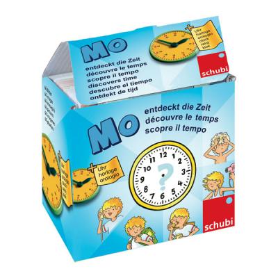 Schubi - Verhalendoos - Mo ontdekt de tijd