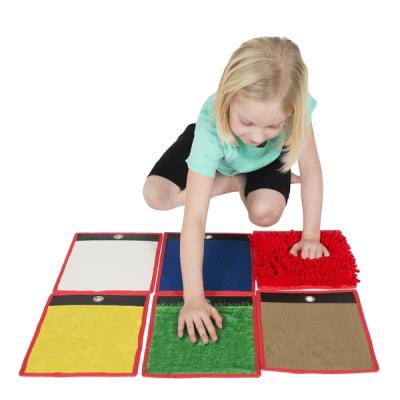 Sensorische mini matjes - Set van 6 / Lot de 6 mini tapis sensoriels